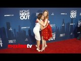 """Patricia Heaton and Sarah Drew Fun Red Carpet Moment """"Moms' Night Out"""" Premiere"""