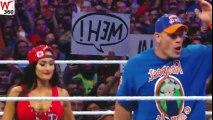 John Cena & Nikki Bella Vs The Miz & Maryse Mix Tag Team Match At WWE WrestleMania 33 On April 02 2017
