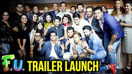 FU Trailer Launch FULL   Marathi Movie 2017   Akash Thosar, Mahesh Manjrekar