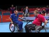 Table Tennis - RUS vs FRA - Men's Singles - Class 2 Quarterfinal 2 - London 2012 Paralympic Games