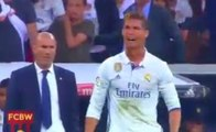 Cristiano Ronaldo's anger after Messi's goal