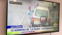 Un voleur fuyant la police a pris un KO après que le conducteur d'un camion ouvre la porte sur son visage