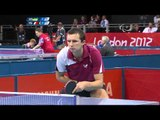 Table Tennis - FRA vs UKR - Men's Singles - Class 9 Group A - London 2012 Paralympic Games
