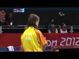 Table Tennis - CHN vs POL - Women's Singles - Class 9 Group A - London 2012 Paralympic Games