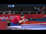 Table Tennis - FRA vs EGY - Women's Singles - Class 8 Group A Part 1 - London 2012 Paralympic Games