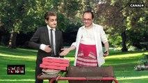 Au lieu de regarder le résultat du premier tour de la présidentielle, Chirac, Sarkozy et Hollande préfèrent boire une bi