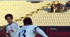 Duncan  Penalty  Goal   1-0  Arhus   VS  Alborg  24-04-2017