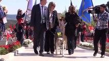 Çanakkale Kara Savaşları'nın 102. Yıl Dönümü - 57. Alay Şehitliği'nde Anma Töreni