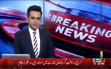 Breaking :- 3 Blasts During Live Reporting of Rangers and Terrorists Firing in Karachi