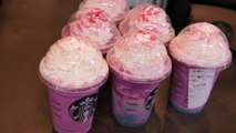 What does the Starbucks unicorn frappuccino taste like?