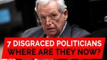 Seven disgraced US politicians: Where are they now?