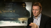 Liam Neeson hails Martin Scorsese as one of the 'great directors'