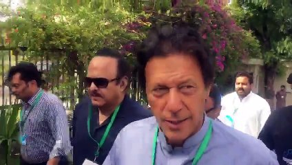 See What Imran Khan Said To Reporter Outside Supreme Court.