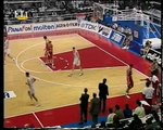 1995 Euroleague f4 final Real Madrid-Olympiakos(second half and ceremony)