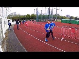 Animation Athlétisme Villejuif le 22/04/2017 Marche Athlétique Poussins