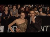 Shailene Woodley and Theo James DIVERGENT World Premiere #Tris #Four