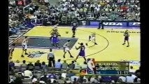 2001 NBA playoffs wcsf game 4 Los Angeles Lakers-Sacramento Kings part 1/2