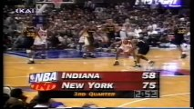 1995 NBA playoffs ecsf game 2 Indiana Pacers-New York Knicks part 2/2