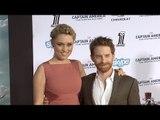 "Seth Green and Clare Grant ""Captain America: The Winter Soldier"" World Premiere"