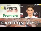 "Cameron Boyce ""Muppets Most Wanted"" World Premiere ARRIVALS"