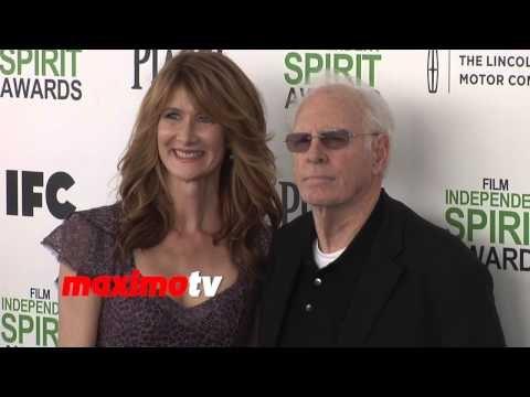 Bruce Dern and Laura Dern 2014 Spirit Awards ARRIVALS