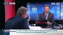 QG Bourdin 2017 : Emmanuel Macron, favori des sondages pour le second tour - 25/04