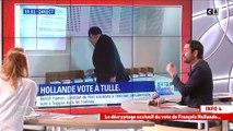 Dimanche, lors du 1er tour, François Hollande a oublié de prendre un bulletin ... celui de Benoît Hamon