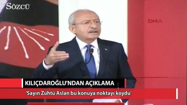 Kemal Kılıçdaroğlu'ndan flaş açıklama