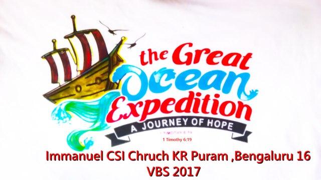 Immanuel CSI Church Kr Puram Bangalore VBS 2017 Skit 4