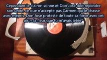 Carmen (Bizet) La fleur que tu m'avais jetée - José Luccioni Dir Eugène Bigot (78t Je disque je veux)