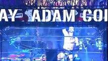 Adam Cole entrance at NJPW Wrestling Kingdom 11