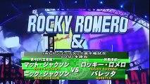 Roppongi Vice entrance at NJPW Wrestling Kingdom 11