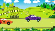 Coches de Сarreras - Carritos para niños - Caricaturas de carros - Coches infantiles