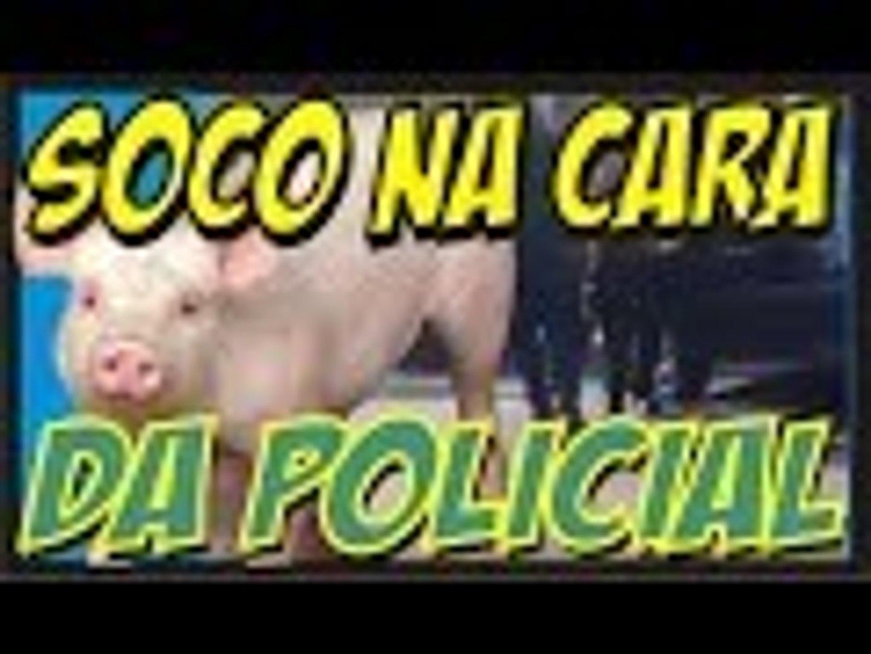 COVARDÃO AGRIDE COM SOCOS MULHER E POLICIAL FEMININA