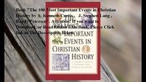 Download The 100 Most Important Events in Christian History ebook PDF