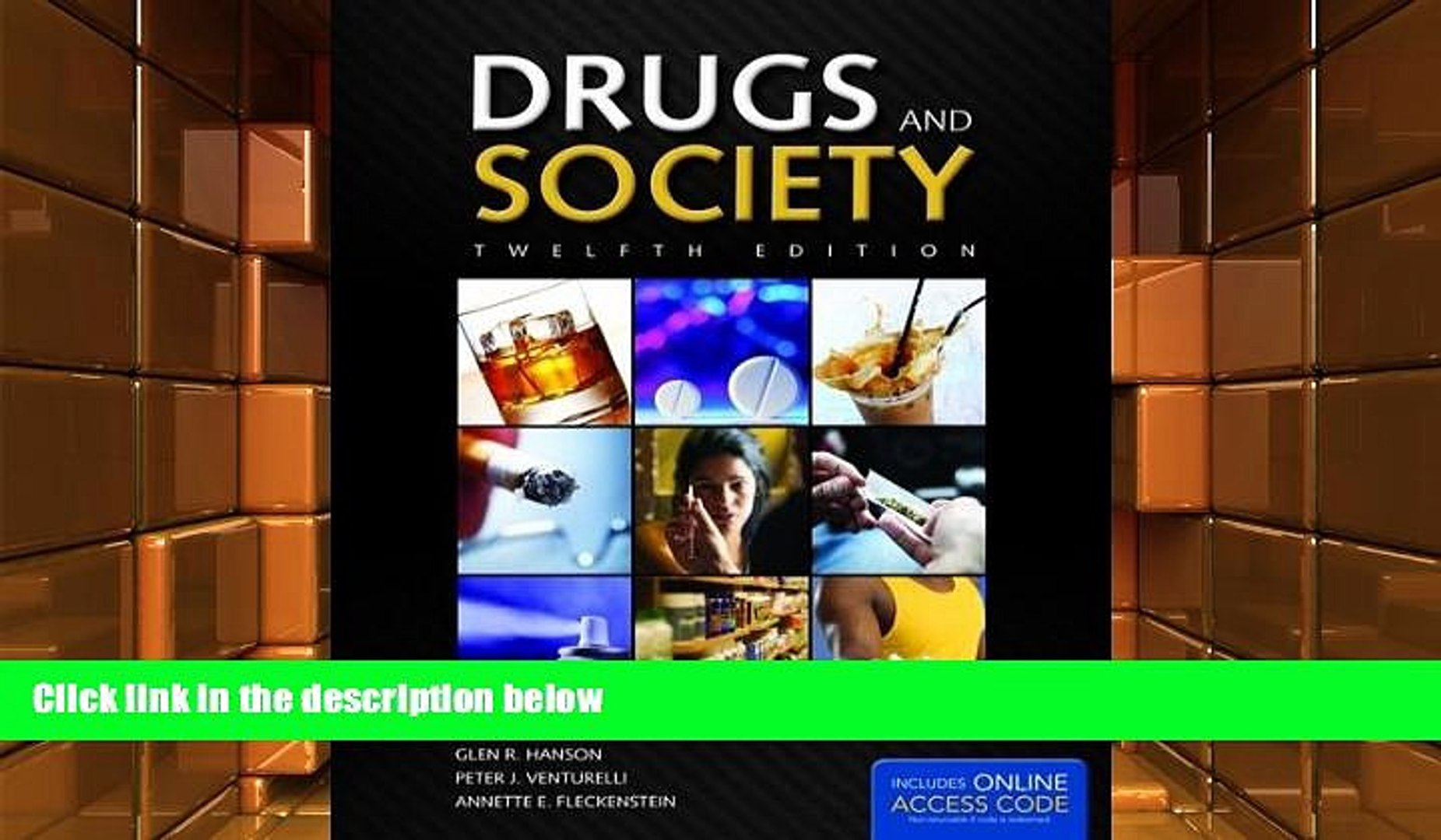 Audiobook  Drugs And Society (Hanson, Drugs and Society) Glen R. Hanson  For Kindle
