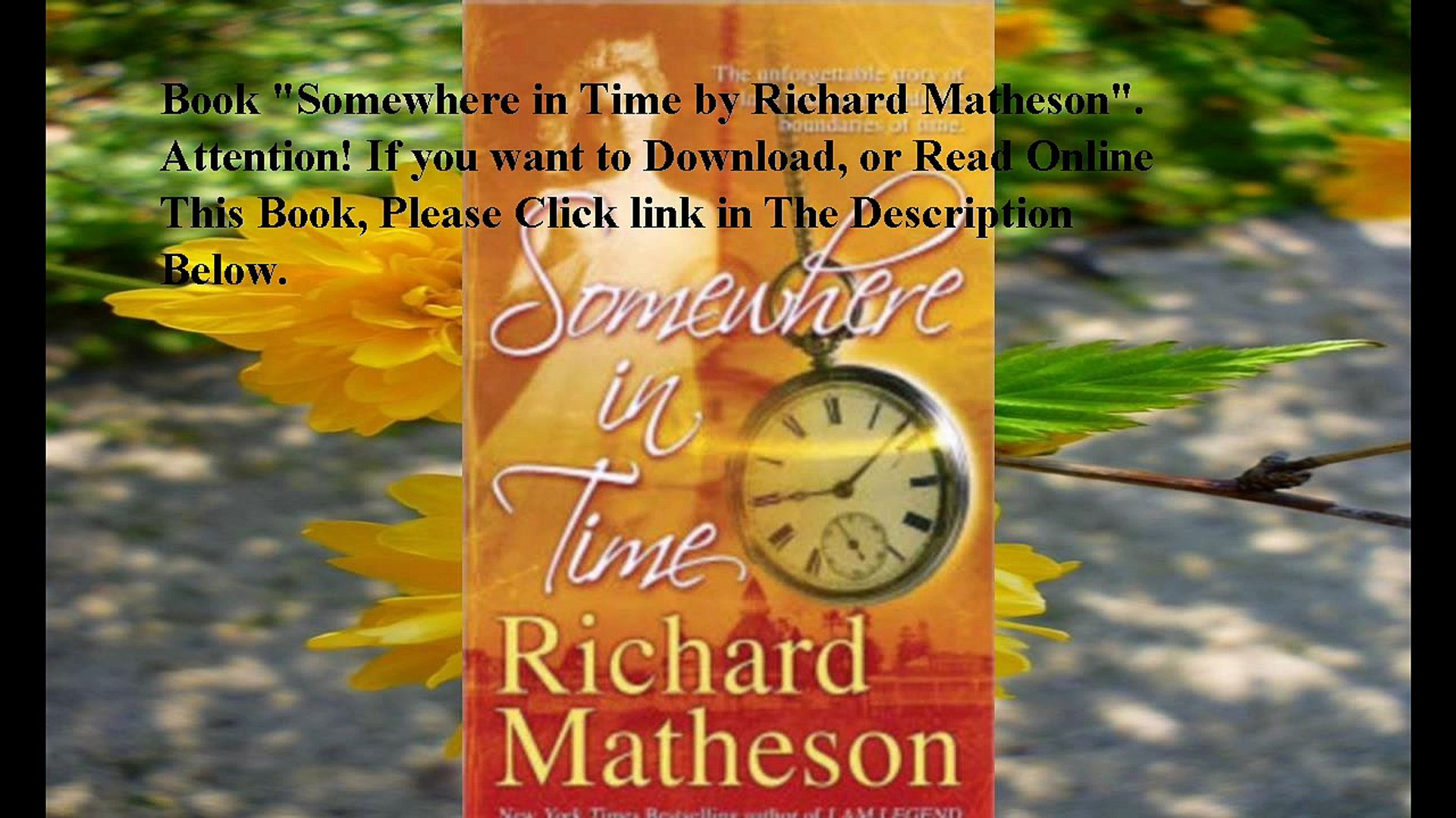 Download Somewhere In Time Ebook Pdf