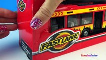 FAST LANE EXPRESS CITY BUS REPLICA MODEL ARTICULATED & REAL OPENING DOORS FUN FOR TODDLERS AND KIDS