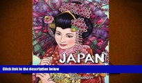 [Download]  Japan: An Adult Coloring Book with Japanese Cultural Designs, Beautiful Asian Women,