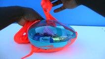 Giant Slime Surprise Egg Toys Disney Princess Inside Out Shopkins Kids OOZY Slime Egg