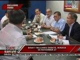 SONA: Binay-Trillanes debate, ikinasa sa Nov. 27
