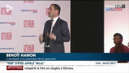 Primaire à gauche : Benoît Hamon bat Manuel Valls dans la bataille du dernier meeting