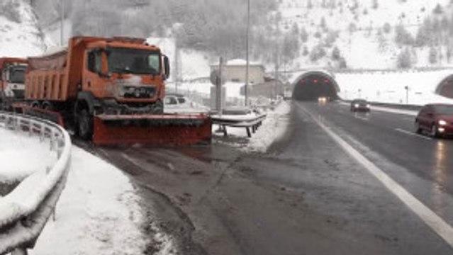 Bolu Dağı'nda Yoğun Kar Yağışı - Bolu