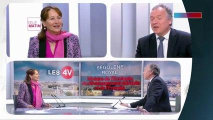 Benoît Hamon : Ségolène Royal laisse entendre qu'elle a voté pour lui