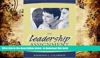 [PDF]  The Leadership Assignment: Creating Change Raymond L. Calabrese For Ipad