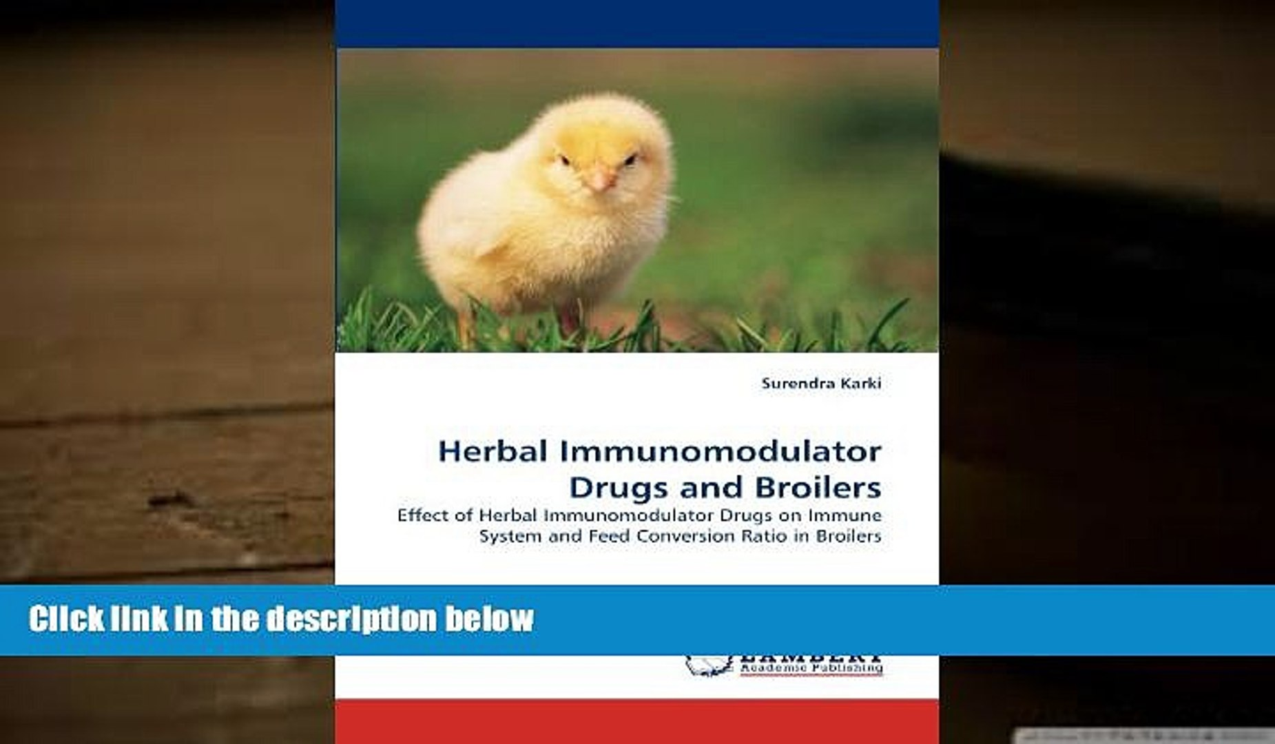 Audiobook  Herbal Immunomodulator Drugs and Broilers: Effect of Herbal Immunomodulator Drugs on