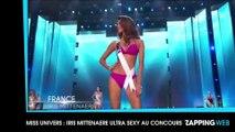 Miss Univers : Iris Mittenaere super sexy en danseuse du Moulin Rouge