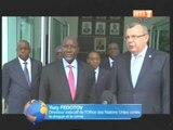 Le1er Ministre a reçu en audience le Directeur Exécutif des Nations Unies contre la Drogue et crime
