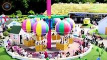 PEPPA PIG WORLD! - Peppas Big Baloon Ride - Peppa Pig World Baloon Ride