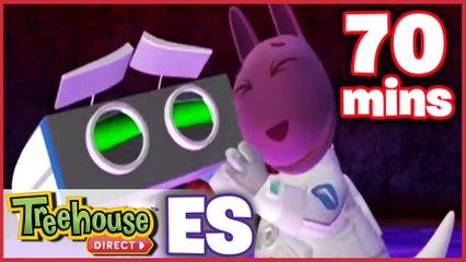 Los Backyardigans Dibujos Animados: 21-23 Episodios Para Niños - Compilación De 70 Mins
